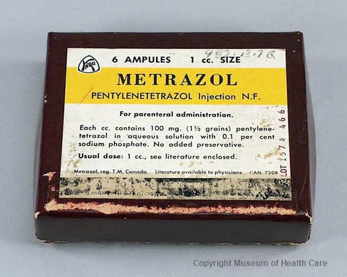 Image result for Metrazol""